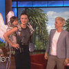 Miranda Kerr Gets a Pair of Special Victoria's Secret Wings From Ellen DeGeneres