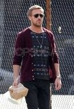Ryan Gosling out in NYC.