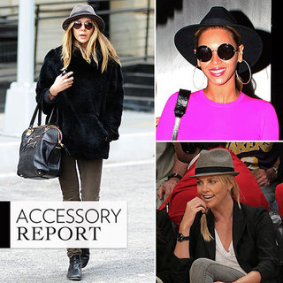 Celebrities Wearing Hats Spring 2012