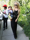 Rachel Zoe honed in on her Spring style with a lightweight fedora.