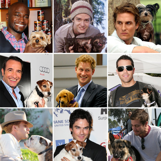 Celebrity Hotties With Doggies