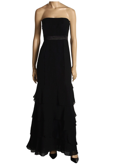 BCBGeneration strapless layered gown ($130)