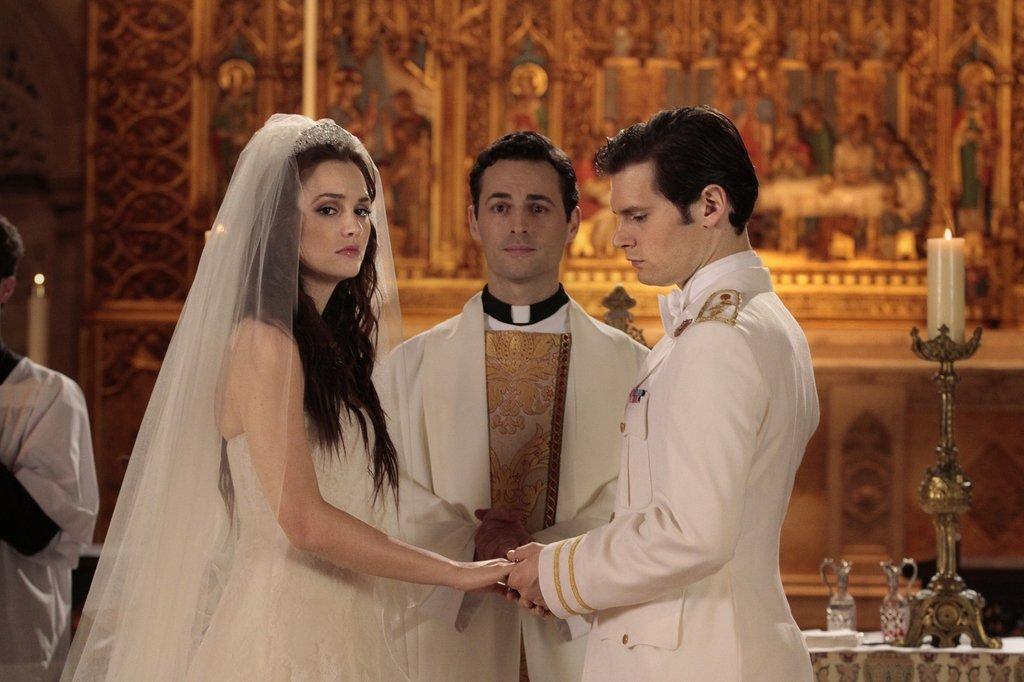 Louis and Blair's Wedding