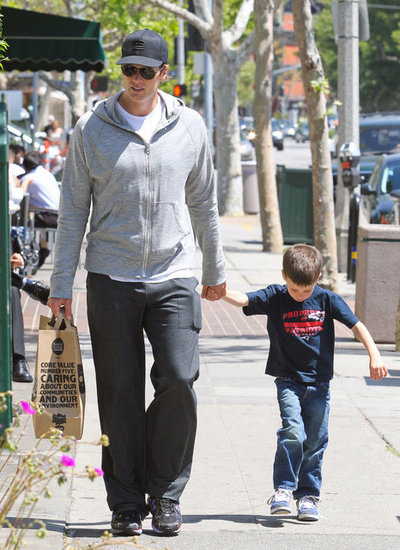 Tom Brady Spends a Sunny Afternoon With Jack