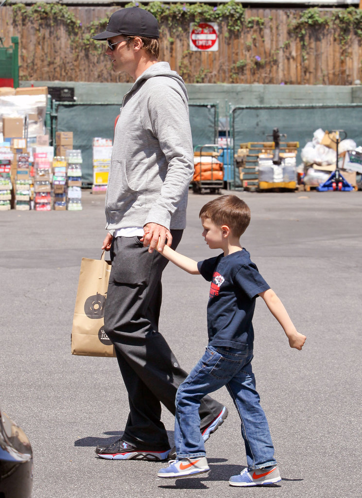 Tom Brady and Jack Moynahan took a trip to Whole Foods Market in Brentwood together.