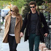 Andrew Garfield and Emma Stone Holding Hands Pictures