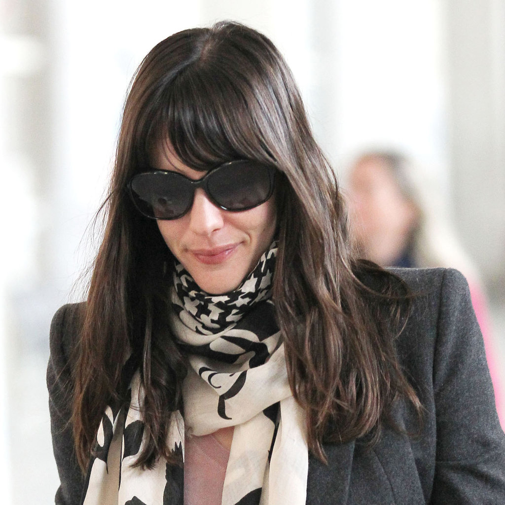 Liv Tyler proves you can never overdo it when opting for oversize face-framers.