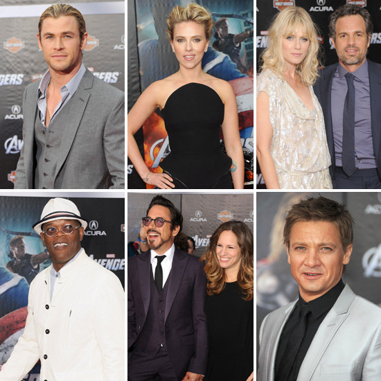 The Stars of The Avengers Assemble For the Exciting World Premiere