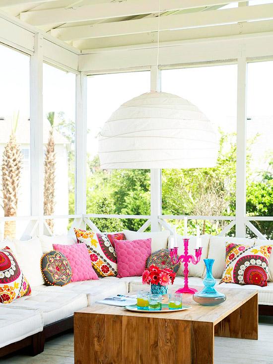 bright patios
