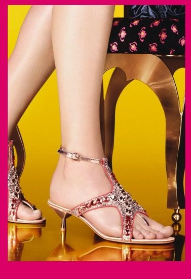 Miu Miu Spring 2012 Crystal Sea Creature Sandals