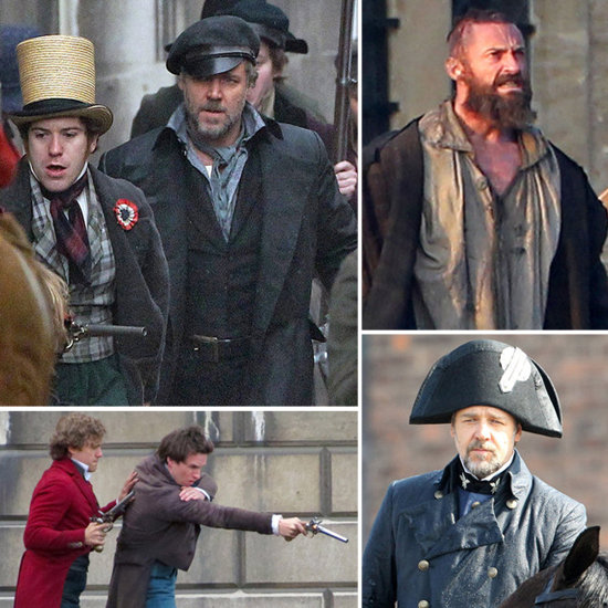 See More Pictures From the Set of Les Misérables