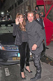 Angelina Jolie and Brad Pitt snuck away from the kids and dined out in Paris in November 2010.
