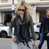 Kate Moss Pictures Running Errands in London