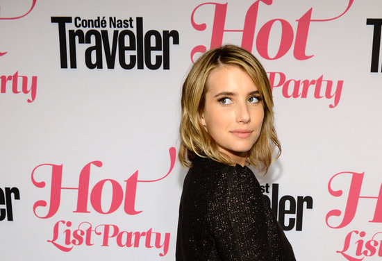 Emma Roberts posed at the Condé Nast Traveler Hot List Party in LA.