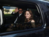 Brad Pitt and Angelina Jolie arrived in style to his September 2011 TIFF Moneyball premiere.