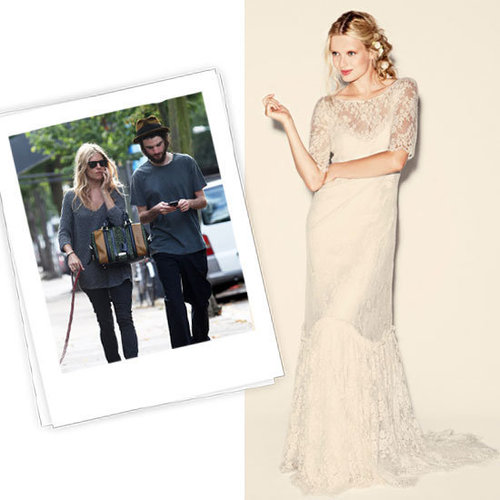 Fab shared their wedding gown picks for engaged stars like Sienna Miller, Jessica Biel, and Angelina Jolie.
