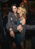 Missi Pyle picked up Rachael Leigh Cook at the Condé Nast Traveler Hot List Party in LA.