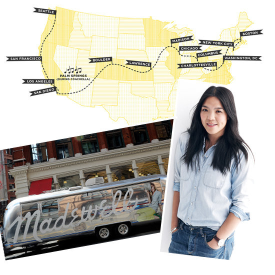 As Madewell's epic road trip begins, creative director Kin Ying Lee shares her wardrobe must-haves with us.
