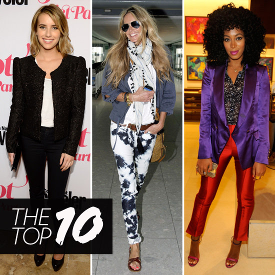 Fab's Top 10 Celebrity Looks of the Week — Emma, Elle, Solange, and More!
