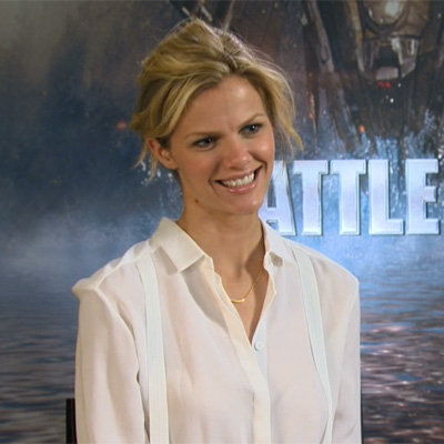 Brooklyn Decker Video Interview on Battleship and Rihanna's Acting Debut