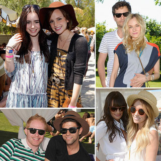 Celebrities at Coachella Pool Parties 2012