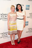 Michelle Williams and Sarah Silverman both looked gorgeous at the Tribeca Film Festival.
