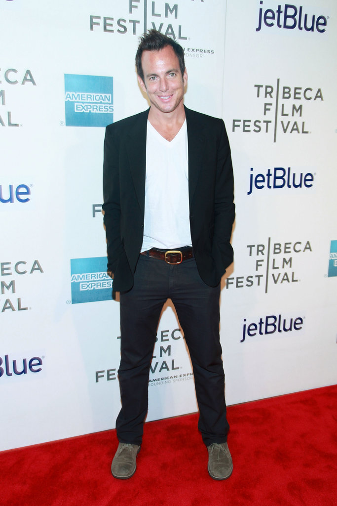 Will Arnett posed on the red carpet at the Tribeca Film Festival.