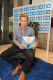 Chris Pine showed off the book he was reading.