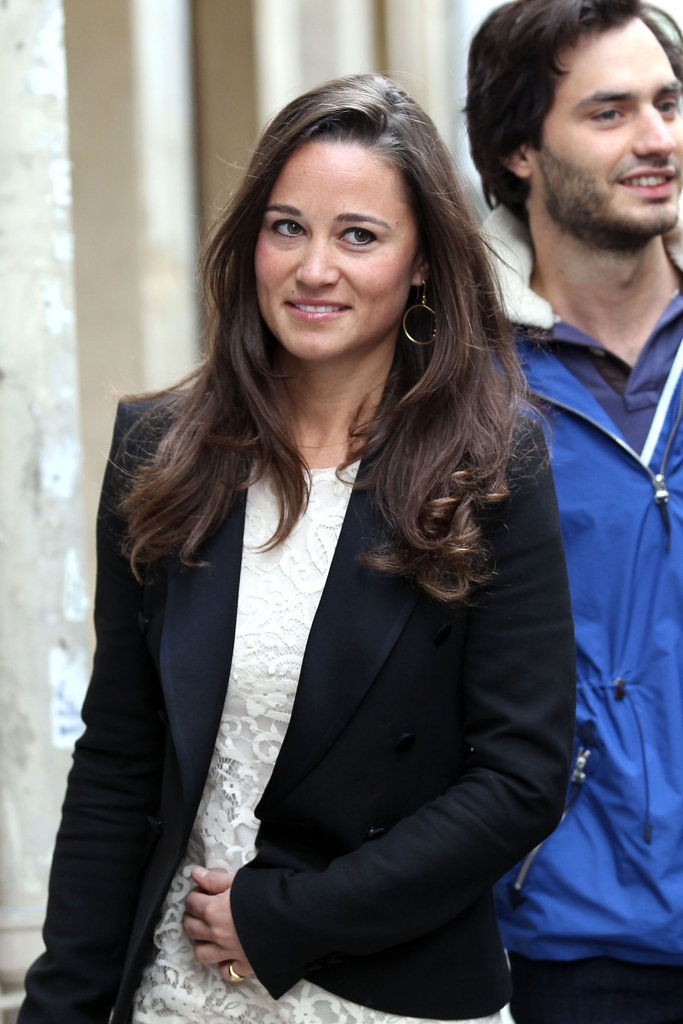 Pippa Middleton with Marcy de Soultrait.