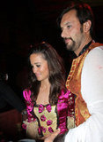 A guy escorted Pippa Middleton into a Paris party.