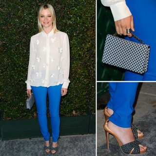 Amy Smart in Stella McCartney at My Valentine Premiere
