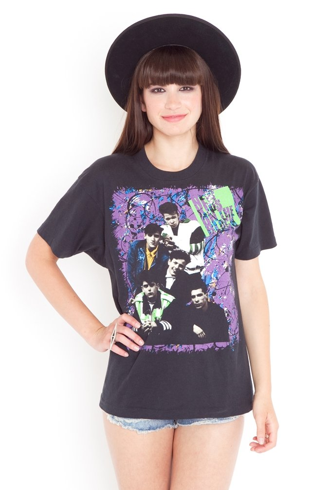 Life is just too short to not be wearing a New Kids on the Block t-shirt. Nasty Gal '90s New Kids on the Block Tour Tee ($168)