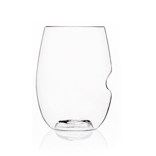 Elegant Plastic Wine Glasses