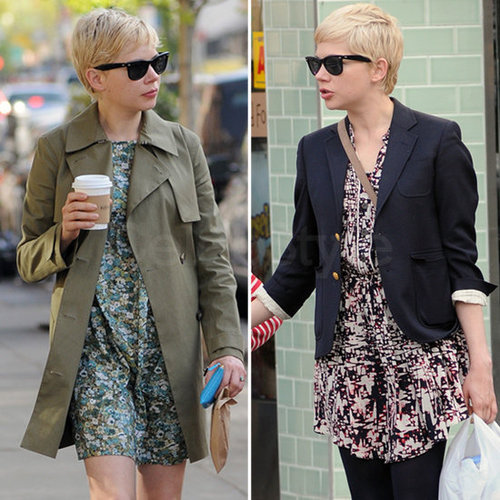 Michelle Williams Printed Frocks