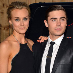Zac Efron and Taylor Schilling Pictures at LA Premiere of The Lucky One