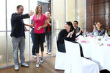 Miranda Kerr Shows Off Reebok, and Her Flexibility, Over a Bavarian Breakfast