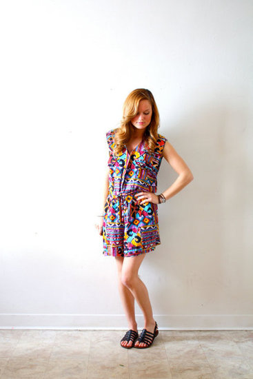 If you're a romper girl, this tribal-print piece is a great pick for Spring. ThisVintageGirl Vintage Bohemian Romper ($29)