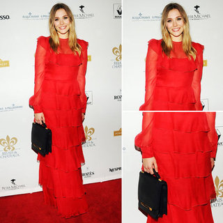 Elizabeth Olsen Valentino Dress April 2012