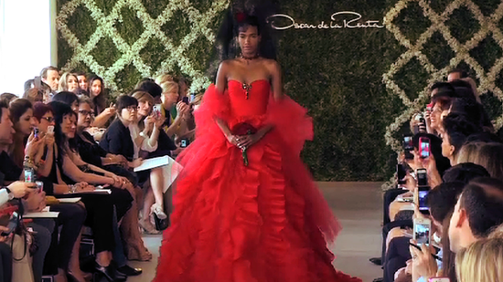 See All the Decadent Wedding Dresses at Oscar de la Renta's Bridal Runway Show