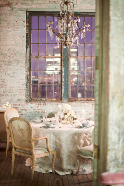 Parlor Tablescape
