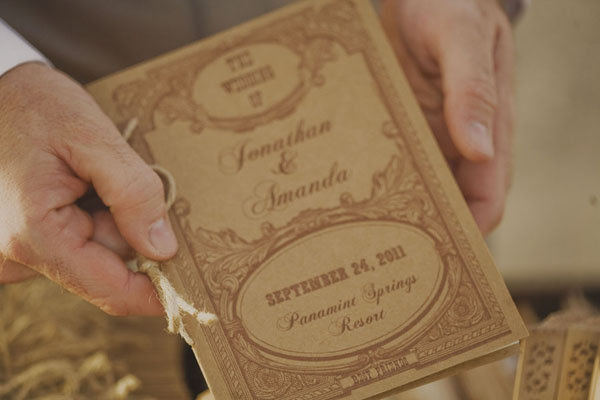 Vintage Ceremony Programs
