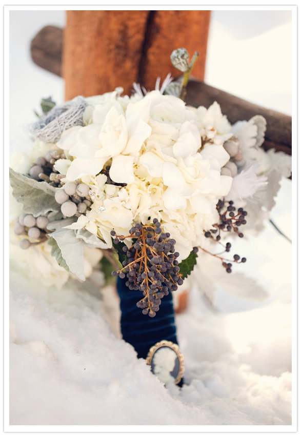 Brooch-Adorned Bouquet