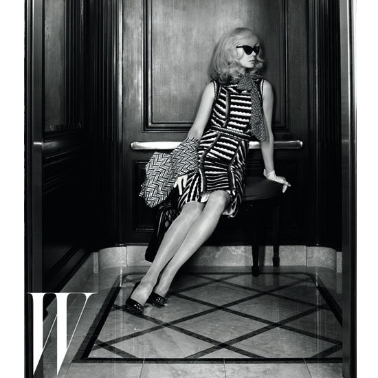 Nicole Kidman and Clive Owen Do Retro Style That Would Put Mad Men to Shame in W's May 2012 Issue
