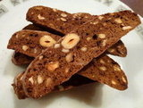 Chocolate, Hazelnut &amp; Orange Biscotti