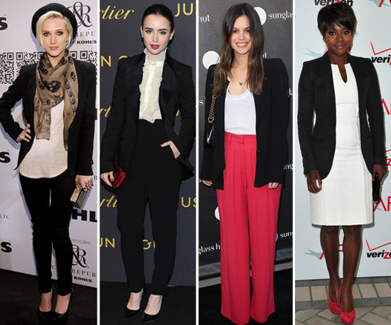 The Black Blazer — 25 Celebs Show How to Wear It For Work and Play!