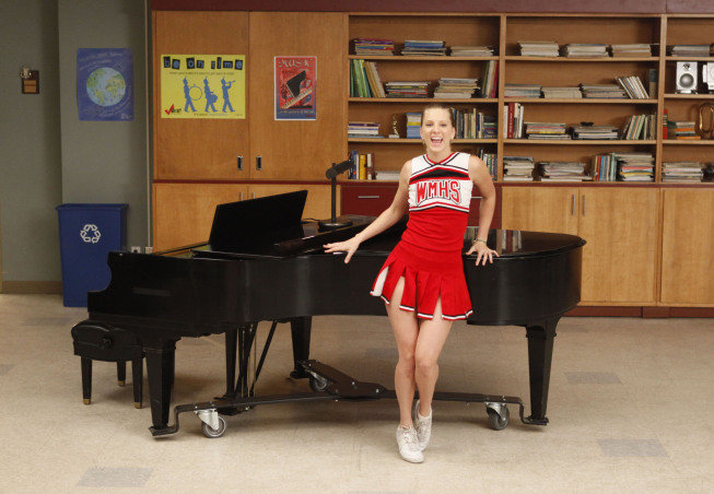 Heather Morris as Brittany on Glee.