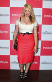 Amanda de Cadenet wore a Roland Mouret dress.
