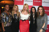 Joy Bryant, Rachel Zoe, Kelly Preston, and Demi Moore celebrated Amanda de Cadenet's new show.