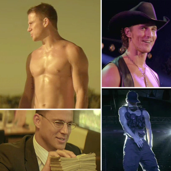 See Shirtless Channing Tatum and Sexy Matthew McConaughey Light Up the Stage in Magic Mike!