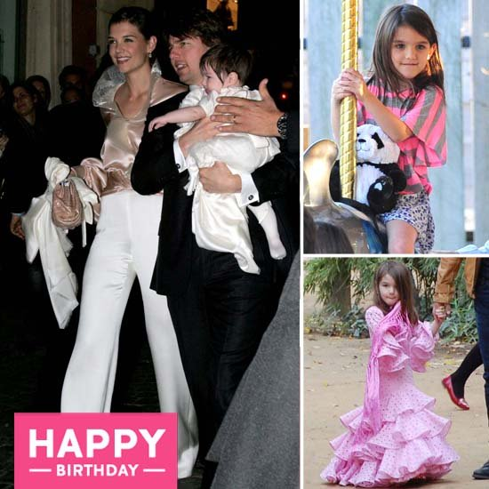 Suri Cruise's Years of Jet-Setting